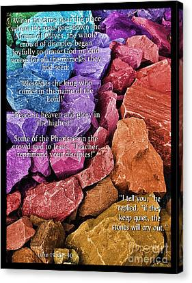 The Stones Will Cry Out Canvas Print by Glenn McCarthy Art and Photography