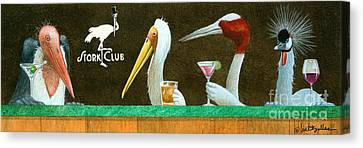 The Stork Club... Canvas Print by Will Bullas