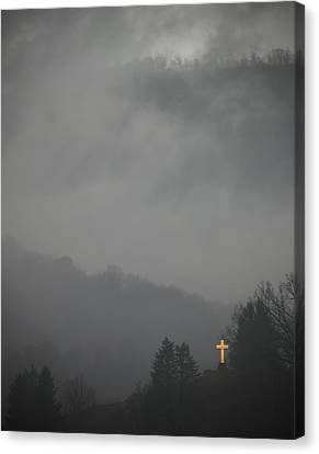 The Storm Is Over Canvas Print by Ed Kelley