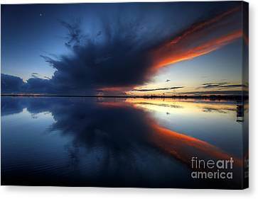 The Storm Canvas Print by English Landscapes