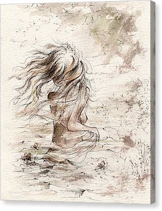 The Storm Canvas Print by Rachel Christine Nowicki