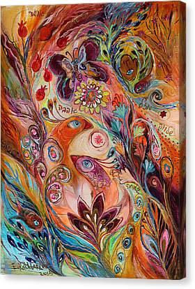 The Stream Of Life Part I Canvas Print by Elena Kotliarker