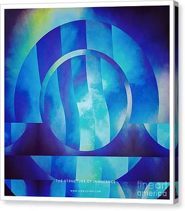 The Structure Of Innocence Canvas Print by Lonnie Christopher