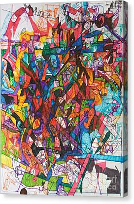 The Subject In Entirety 1 Canvas Print by David Baruch Wolk