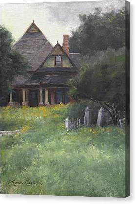 The Sullivan House Canvas Print by Anna Rose Bain