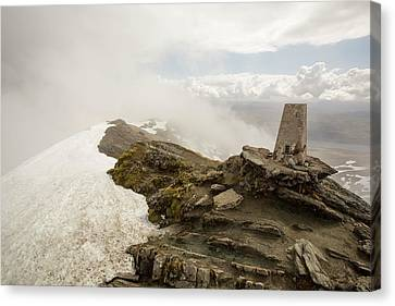 The Summit Of Ben Lawers Canvas Print by Ashley Cooper