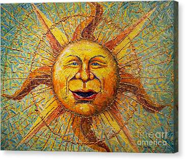 The Sun King Canvas Print by Gail Allen