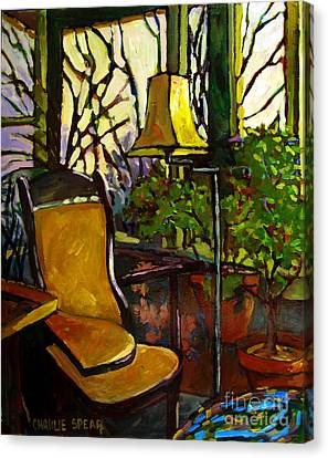 The Sunroom Canvas Print by Charlie Spear