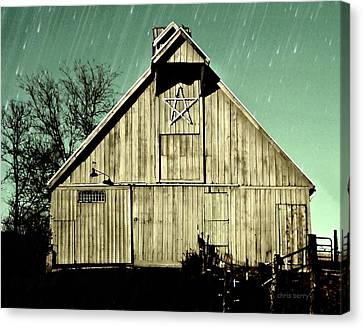 The Symbolic Star Canvas Print by Chris Berry