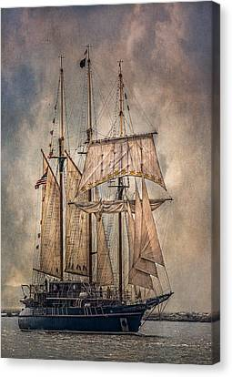 The Tall Ship Peacemaker Canvas Print by Dale Kincaid