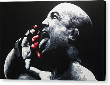 The Taste Of Blood Canvas Print by Geo Thomson