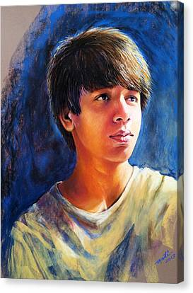 The Teenager Canvas Print by Arti Chauhan