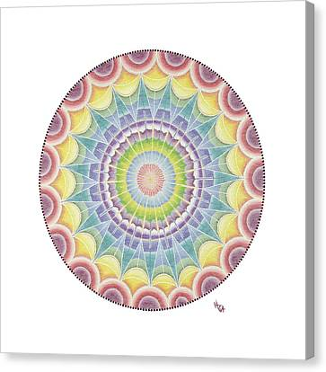 The Third Eye Canvas Print by Vanda Omejc