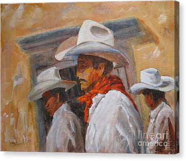 The Three Amigos Canvas Print by Mohamed Hirji