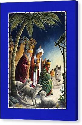 The Three Kings Canvas Print by Lynn Bywaters