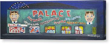 The Tiny Tiny Palace Canvas Print by Patricia Arroyo