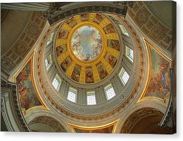 The Tombs At Les Invalides - Paris France - 01131 Canvas Print by DC Photographer