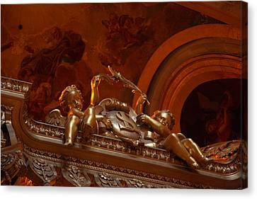 The Tombs At Les Invalides - Paris France - 011318 Canvas Print by DC Photographer