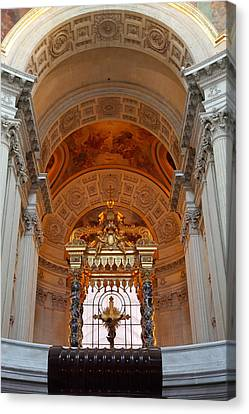 The Tombs At Les Invalides - Paris France - 011333 Canvas Print by DC Photographer