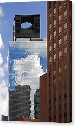 The Tower Of Power Houston Tx Canvas Print by Christine Till