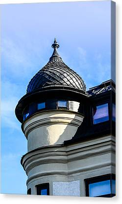 The Tower Canvas Print by Toppart Sweden