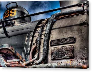 The Train Canvas Print by DH Visions Photography