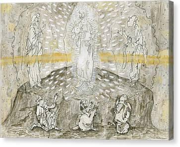 The Transfiguration  Canvas Print by Jonathan Edward Shaw