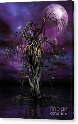 The Tree Of Sawols Canvas Print by John Edwards
