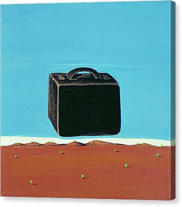 The Trip, 1999 Canvas Print by Marjorie Weiss