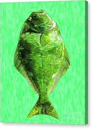 The Ugly Fish 20130723dip68 Canvas Print by Wingsdomain Art and Photography