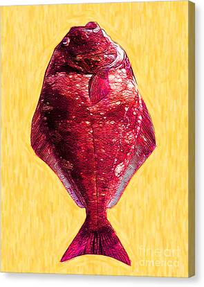 The Ugly Fish 20130723mum38 Canvas Print by Wingsdomain Art and Photography