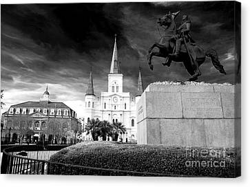 The Union Must And Shall Be Preserved Canvas Print by John Rizzuto