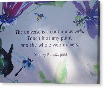 The Universe Canvas Print by Kay Gilley