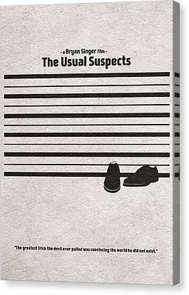 The Usual Suspects Canvas Print by Ayse Deniz