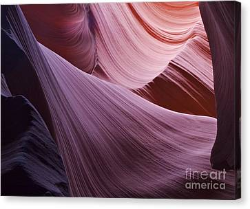 The Veil At Antelope Canyon Canvas Print by Alex Cassels