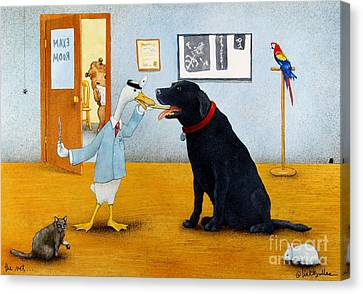 The Vet... Canvas Print by Will Bullas
