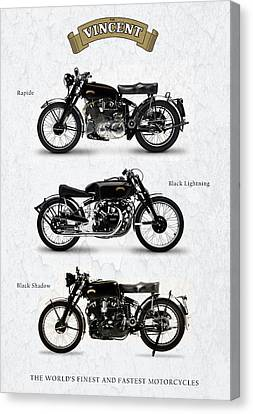 The Vincent Collection Canvas Print by Mark Rogan