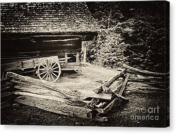 The Wagon Canvas Print by Paul W Faust -  Impressions of Light