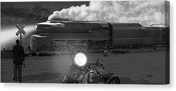The Wait - Panoramic Canvas Print by Mike McGlothlen