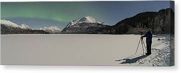The Waiting Canvas Print by Ted Raynor