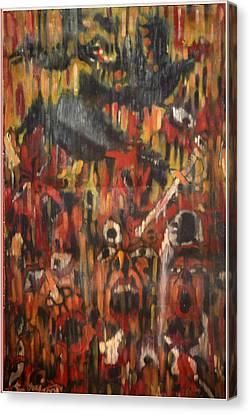The War Ends Canvas Print by Sooraj Kannan