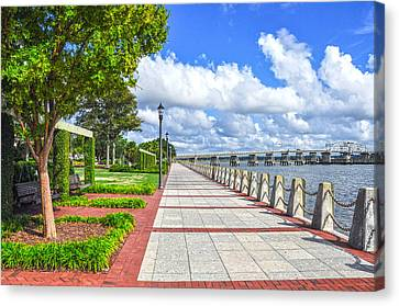 The Water Park Canvas Print by Donnie Smith