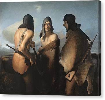 The Water Protectors Canvas Print by Odd Nerdrum