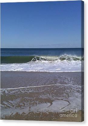 The Wave Canvas Print by Arlene Carmel