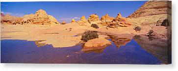 The Wave, Sandstone Formation, Kenab Canvas Print by Panoramic Images