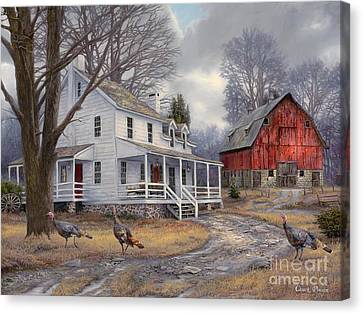 The Way It Used To Be Canvas Print by Chuck Pinson