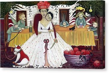 The Wedding Canvas Print by Jennifer Taylor