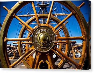 The Wheel Canvas Print by Karol Livote