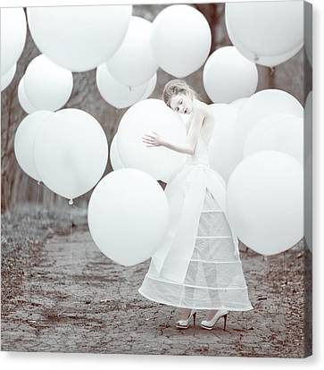 The White Dream Canvas Print by Anka Zhuravleva