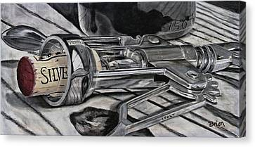 The Wine Master's Touch Canvas Print by Brien Cole